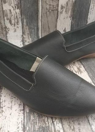 Туфли лодочки легкие, натуральная кожа, viva