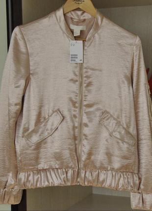 Бомбер h&m , куртка1 фото