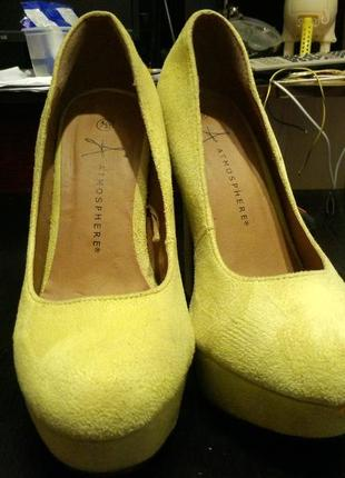 Atmosphere босоножки туфли замшевые2 фото