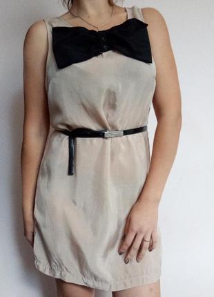Літнє плаття h&m з бантом/ летнее платье с бантом