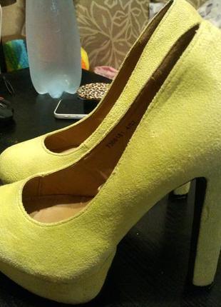 Atmosphere босоножки туфли замшевые5 фото