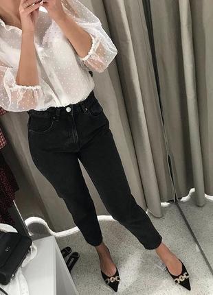 Mom jeans новая коллекция zara