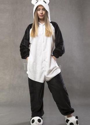 Пижама кигуруми взрослые панда веселая