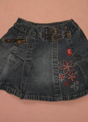 Юбка джинсовая на девочку 5 лет