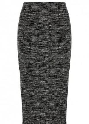 Стильная меланжевая юбка от zara