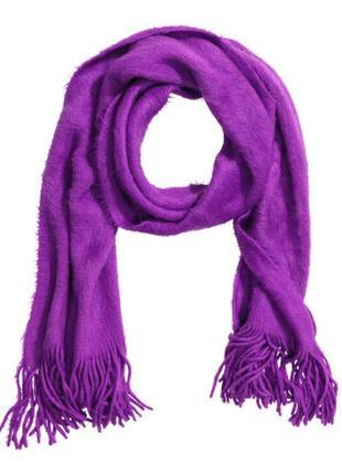 Тёплый шарф н&м