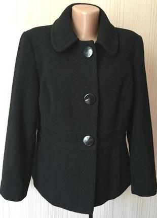 Распродажа - полу-пальто *marks&spencer* 16 р. - 68% шерсть!!