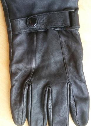 Перчатки натуральная кожа мужские