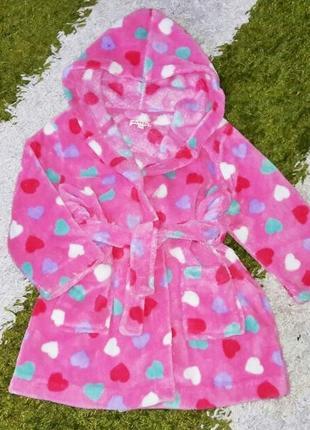 Модний махровий халат, розмір 98