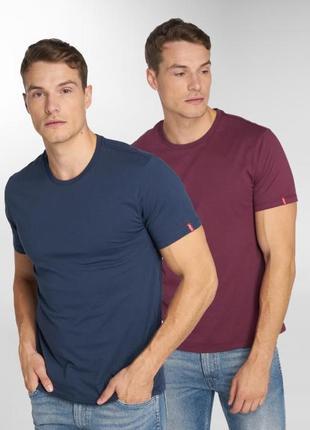 Набор хлопковых футболок от levi's