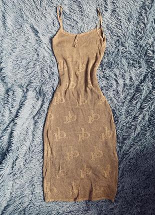 Люкс. платье roccobarocco