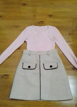 Новая юбка трапеция
