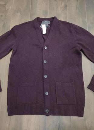 100% шерстяной свитер, меринос от m&s, m р. новый!