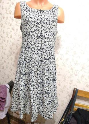 Платье тонкая вискоза
