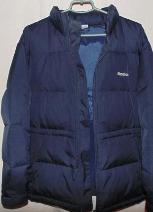 Пуховик куртка натуральный пух reebok оригинал новый