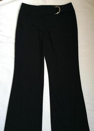 Супер брючки чёрные жен весна-осень  xl (50)