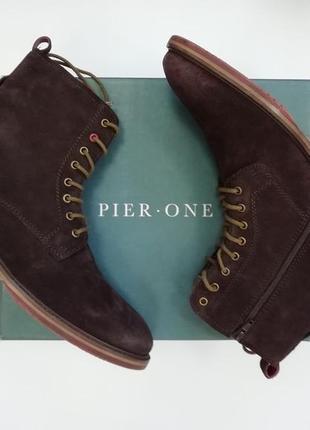 Ботінки відомого бренда pier one оригінал!