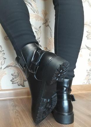 Акція !!! жіночі демісезонні напівчобітки (ботинки) розмір 36, 37, 39, 40, 41.4 фото