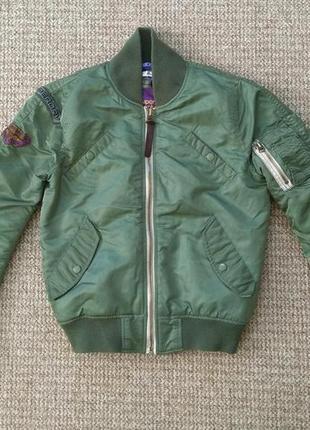 Superdry женская куртка бомбер оригинал (s)