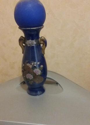 Декоративная ваза со свечкой