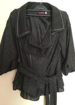 Пиджак с люрексовой нитью