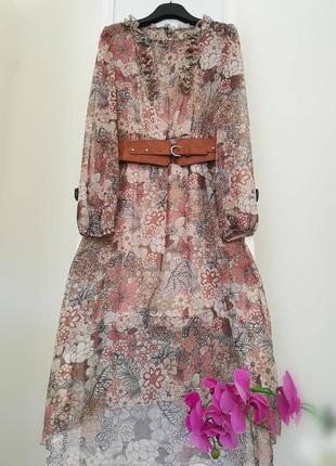 Нежное базовое платье италия