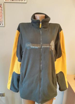 Шикарная флисовая куртка