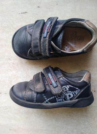 Правильные кожаные туфли pablosky испания стелька 15 см