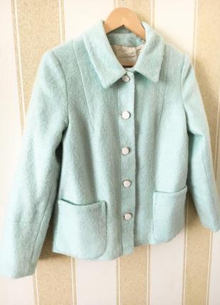 Піджак куртка півпальто з натуральної шерсті