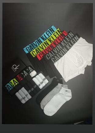 Акция! набор трусов 5 шт + набор носков 9 пар по цене 635 грн!