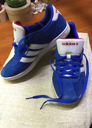 Синие женские кроссовки Adidas 2019 - купить недорого вещи в ... 88b58a80c87e4