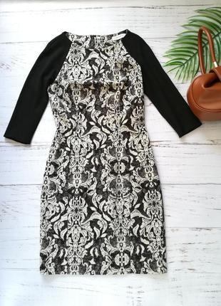 Красивое платье футляр bovona р. xs