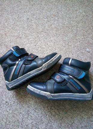 Зимние ботинки 35р.