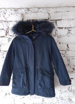 Зимняя куртка(парка)  zara