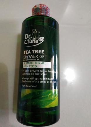 Гель для душа с чайным деревом