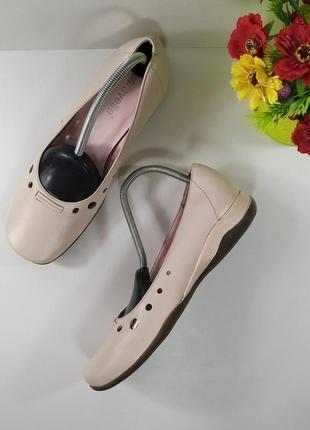 Скидка до 18.00👌успейте купить🤗нежные кожаные удобные туфли