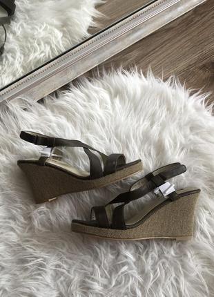 Кожаные сандали, босоножки на платформе stella glanz, 36,37,38,40,41 размер
