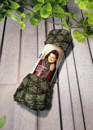 Теплый длинный шарф двухсторонний