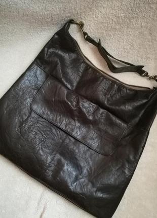 Большая сумка объемная сумка трендовая сумка сумка-мешок