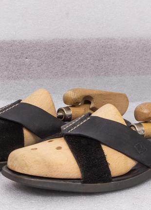 Тапочки кожаные мужские sperry размер 40 стелька 27 см