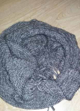 Шерстяной шарф marks & spencer