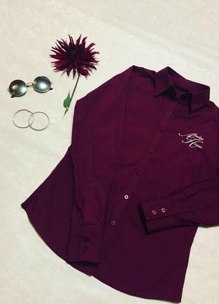 "🔥 новая рубашка цвета бордо🔥от «apsley house"""