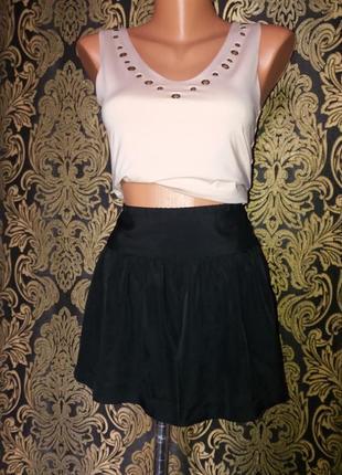 Шифон шорты юбка