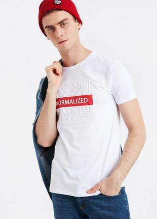 Lcw чоловіча футболка мужская турецкий бренд 16170