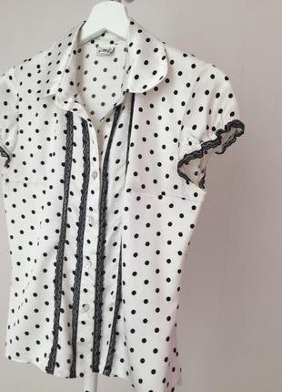 Блуза атласная vilonna