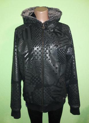 Двухсторонняя теплая куртка