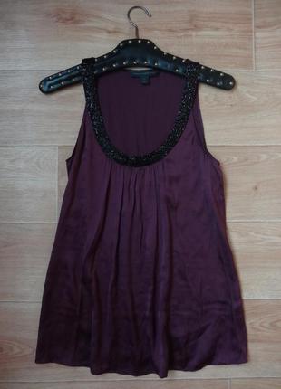Снизила цену красивая шелковая блуза шикарного цвета.