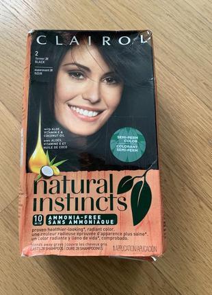 Clairol natural instinkt краска фарба для волосся