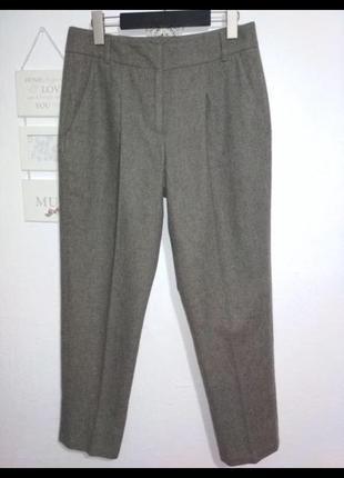 Фирменные, тёплые шерстяные брюки