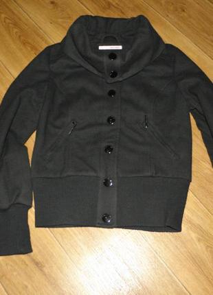 Кашемировая укороченная курточка